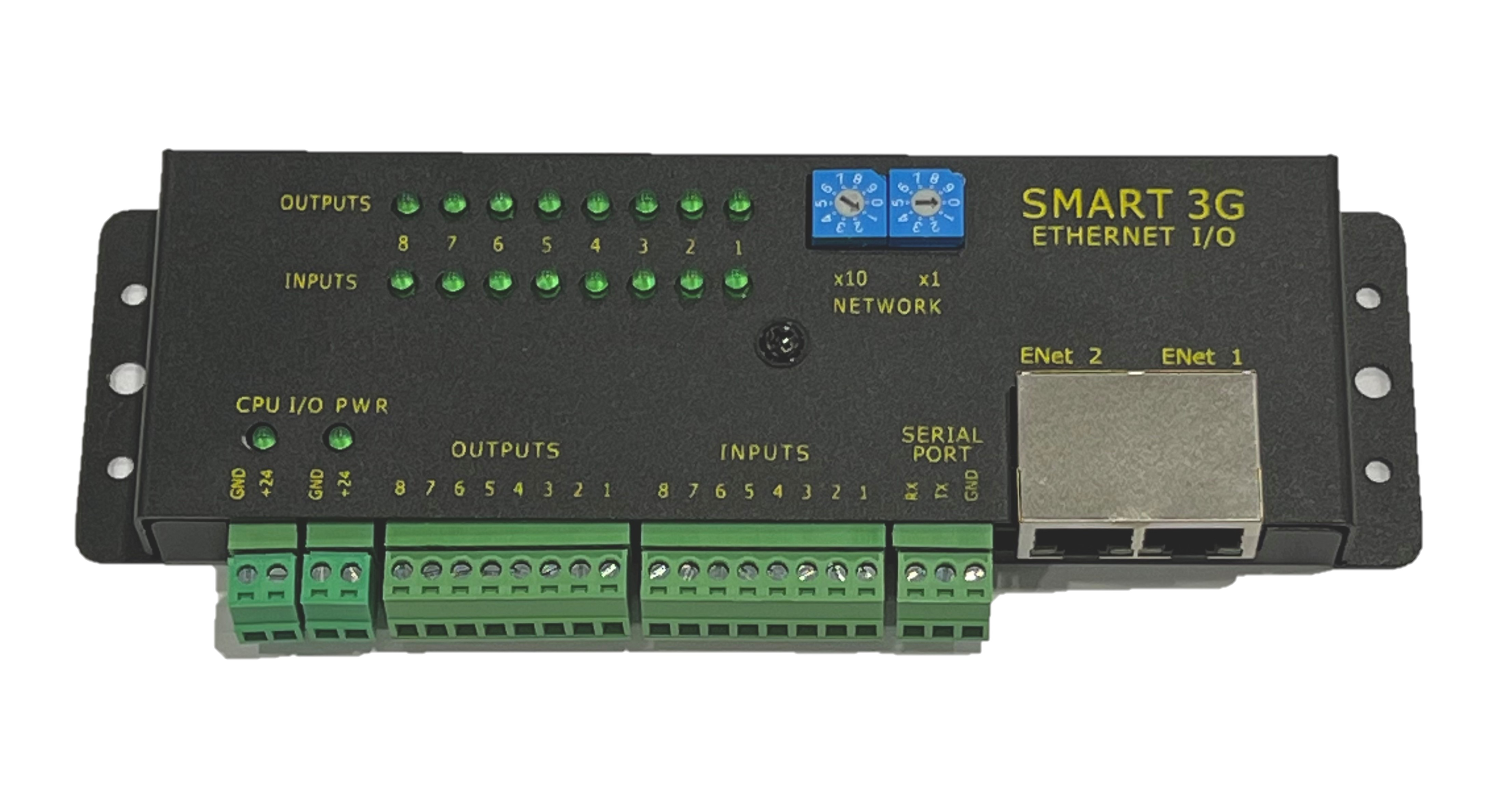 Ethernet PLC Modbus/TCP Ethernet/IP Programmable Controller